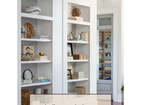 When Styling Bookshelves, Here are 7 Design Tips to Consider