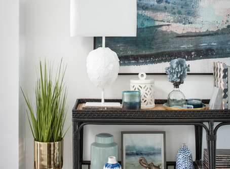Mid-mod Coastal Casa: Home Tour, Entryway and Screened-in Porch