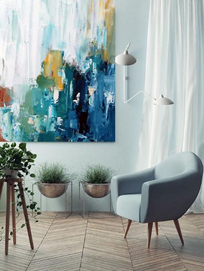 Mary+Hannah+Interiors+--+Wall+Art:+Go+For+It