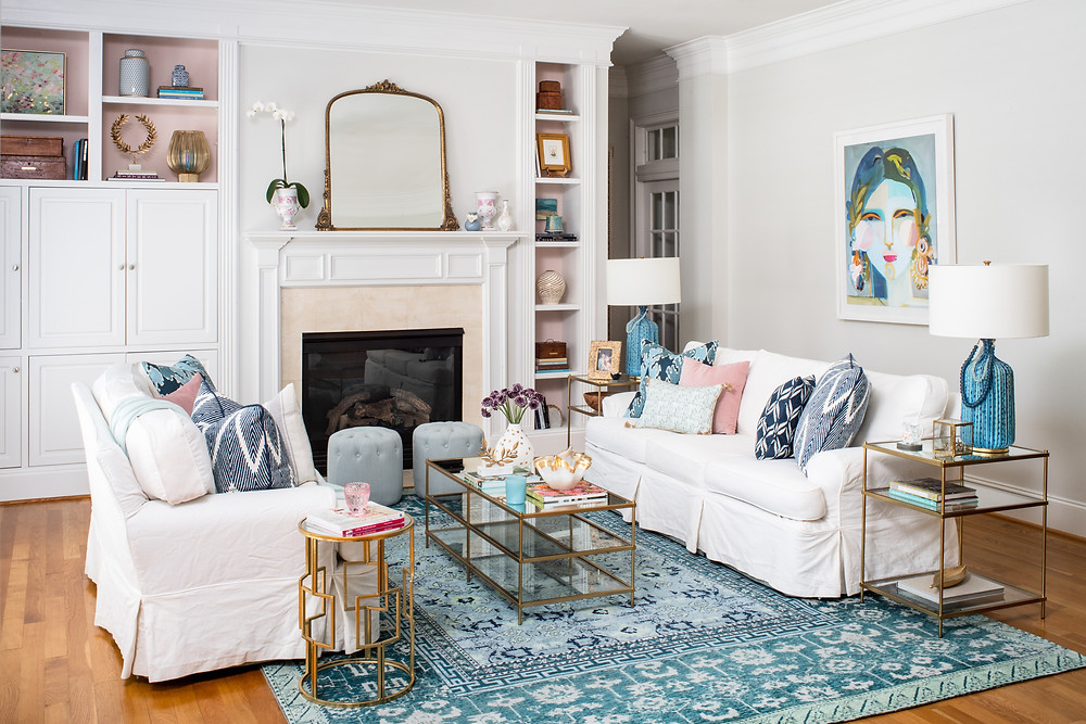 Mary Hannah Interiors Where to Place and How to Conceal Your TV
