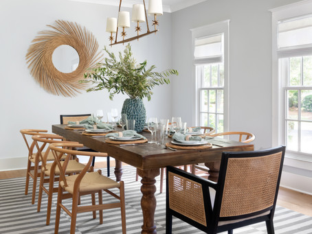 How to Achieve the #ScandiFarmhouse Dining Room Look
