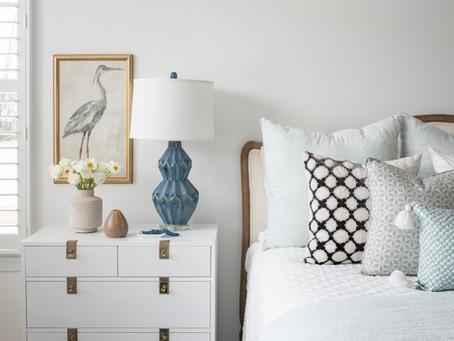 Mid-mod Coastal Casa: Home Tour, Master Bedroom