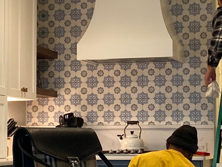 Behind the Scenes: Kitchen Sneak Peek on Bald Eagle Lane