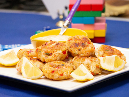 Shrimp and Crab Cake with Spicy Citrus Remoulade