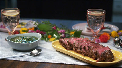 New York Strip Steak with Chimichurri.jp