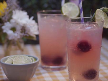 Cherry Tarragon Limeade