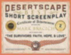 DESERTSCAPE CERTIFICATE MARK BRACICH-rev