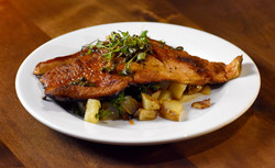 Trout with Camp Potatoes