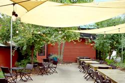 """""""The Garden"""" our summer patio"""