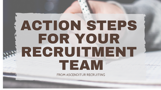 Plan for 2017 - Action Steps For Your Recruitment Team