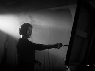 Artist To Artist - Aurelia Istinah, in her Montreal QC studio