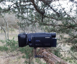 Mount on a Video Camera