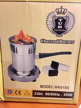Электрическая плитка для розжига углей