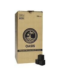 Уголь OASIS (кокосовый, 288 штук) 3 кг.