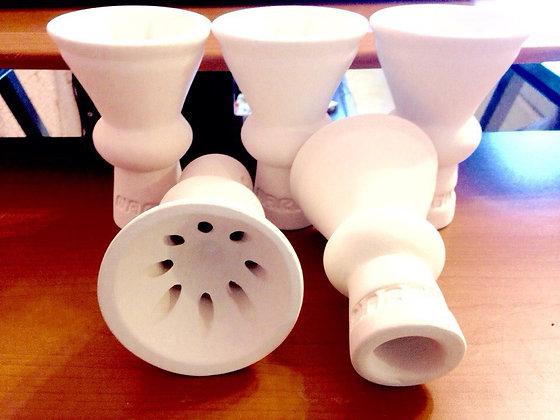 Чашка фирменная Nargilia (белая глина)