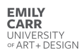 Emily Carr University of Art and Design.
