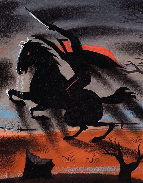 Headless Horseman by Mary Blair