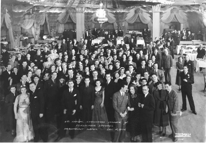 Fleischer Studios' 1936 Christmas Party