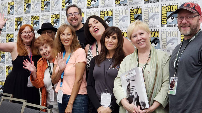 """""""Ink & Paint"""" at San Diego Comic-Con 2018"""