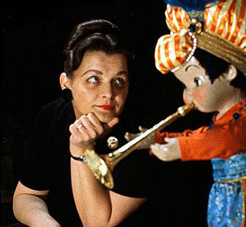 Alice Davis with Trumpeter