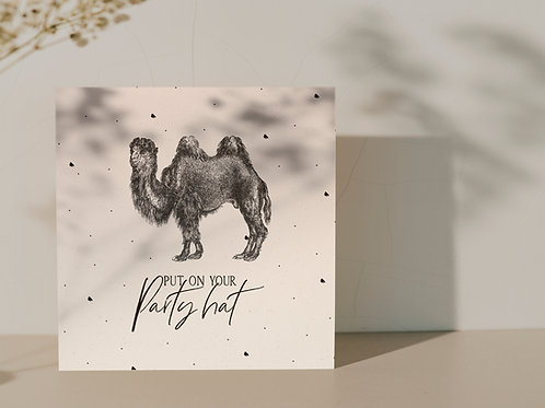 Ansichtkaart ''Camel''