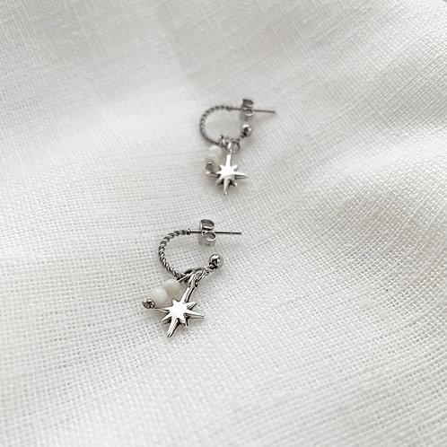 Earrings: Starburst