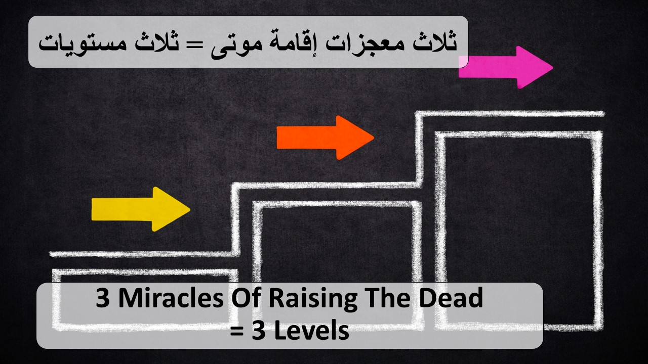+ 3 Miracles of Raising the Dead, 3 Leve