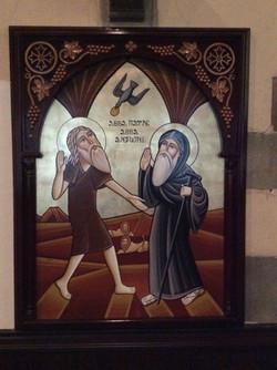 St Anthony and St Paula