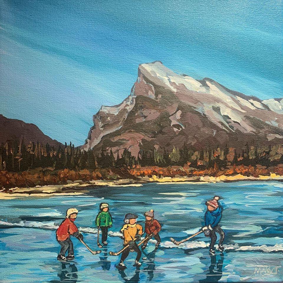 Banff Winter Skate