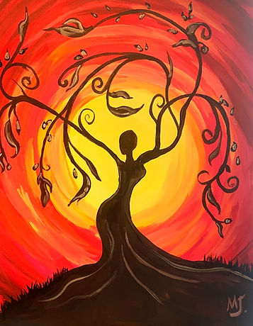 Divine Tree Goddess