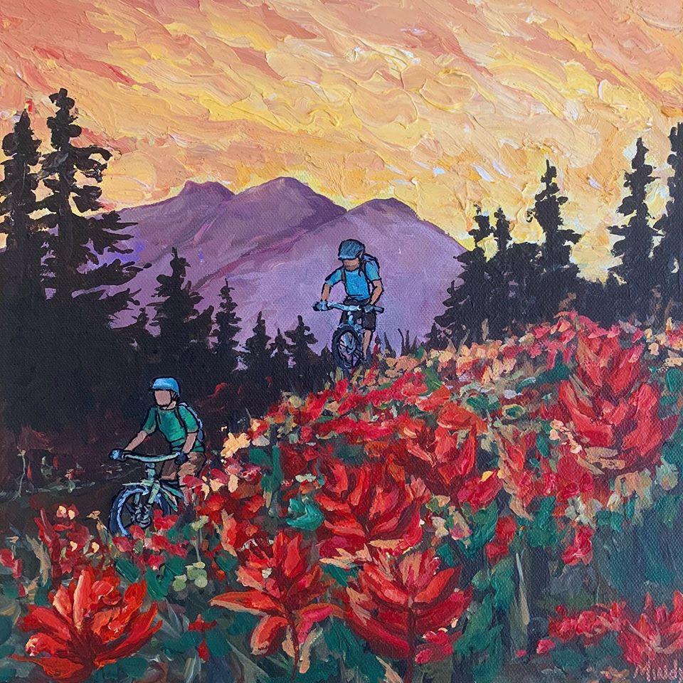 Biking & Brushes