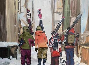 Girls Who Ski
