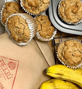 Peanut Butter & Banana Muffins