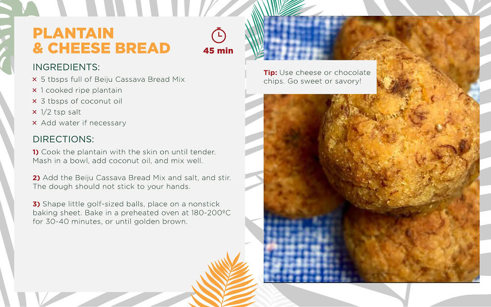 Plantain & Cheese Bread