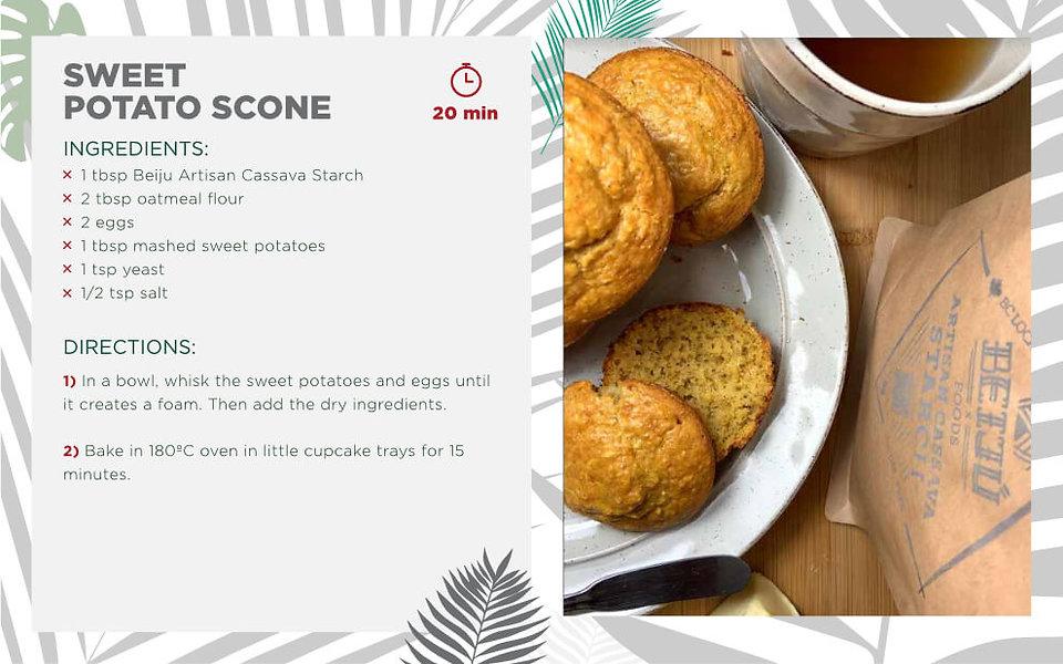 Sweet Potato Scone