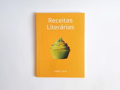 Livro Receitas Literárias, de Isabel Costa, é lançado pela Aliás Editora