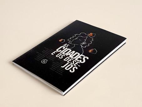 Conheça As cidades e os desejos, coletânea que reúne 25 trabalhos