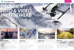 2nd place Drone competition by Helden.de
