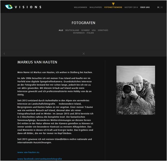 Vaude Visions Fotograf