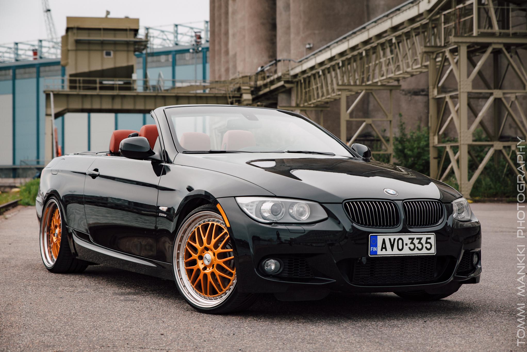 Ikuinen pikkupoika ;)BMW 335 is AVO