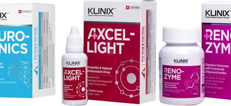 인지기능장애 개선 보조제 등 KLINIX 수의사처방 솔루션 3종