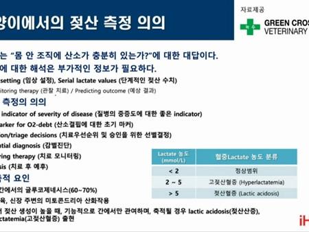 ˝젖산검사,응급환자 평가 및 환자 예후 판단에 활용 가치 크다˝