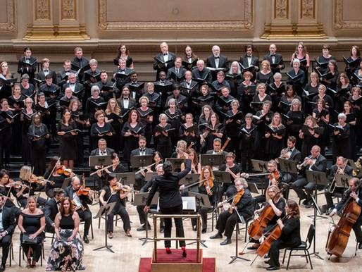 Hopewell Valley Chorus Returns to Carnegie Hall