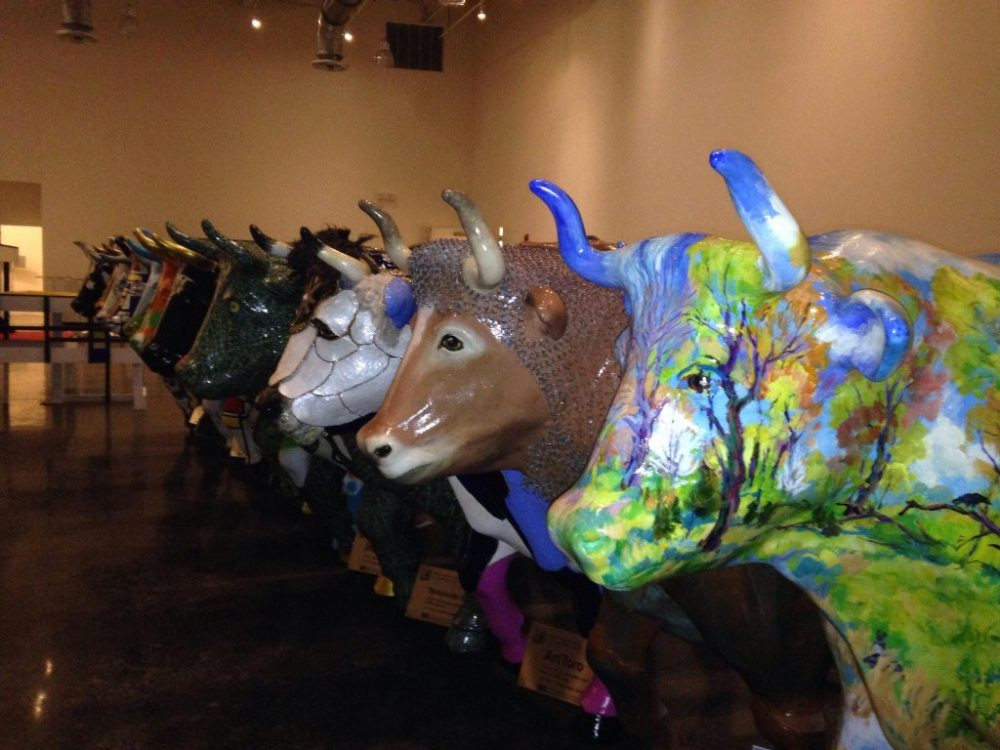 The Hopewell Valley Stampede was the kickoff initiative of the the Hopewell Valley Arts Council. Each ox was embellished and painted by an area artist to celebrate the agricultural culture and historical significance of the Hopewell Valley.