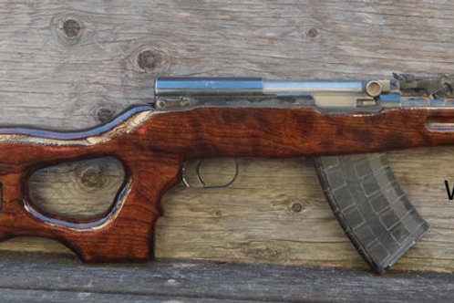 SKS  Stock  Custom Thumbhole Design