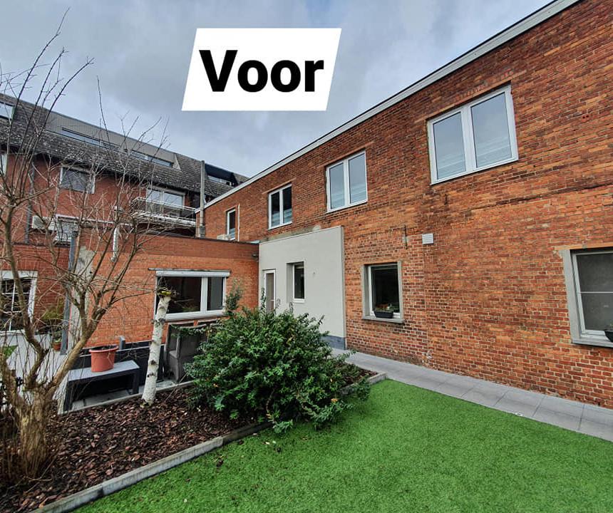 gevelrenovatie Sint-Gillis-Dendermonde - voor