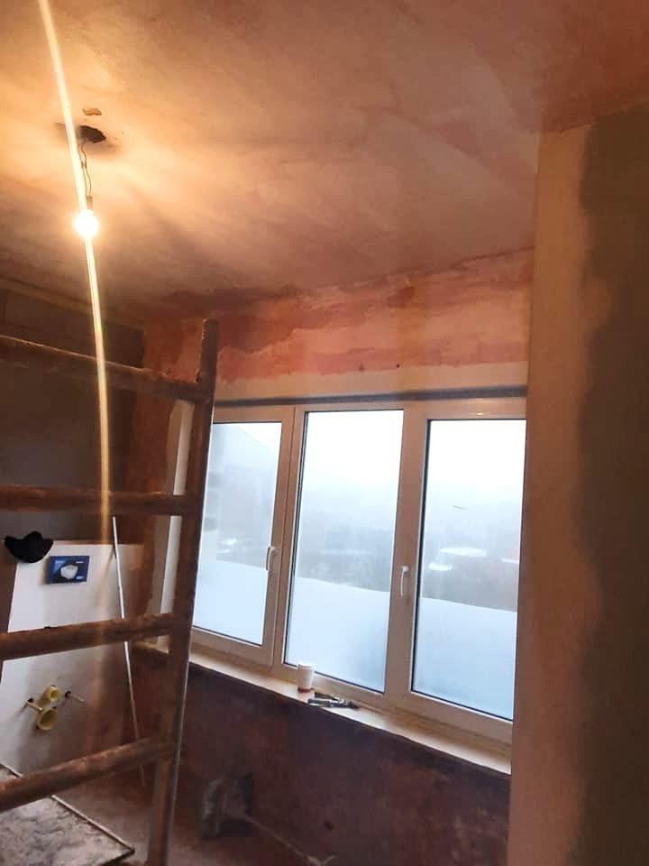 pleisterwerken woning - voor