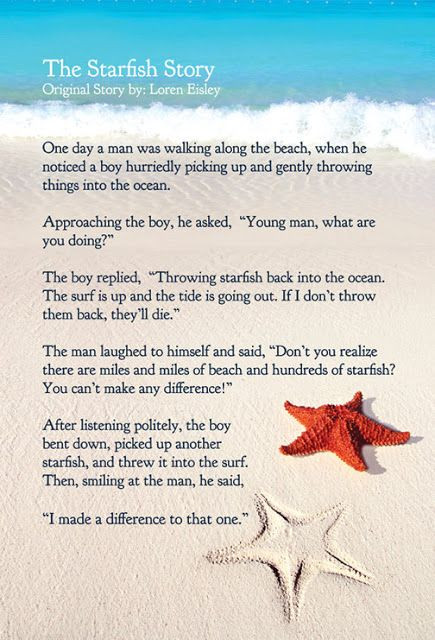 Are you a Starfish?