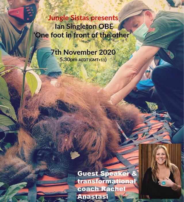 Jungle Sistas Presents Dr Ian Singleton OBE