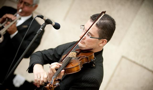 Violinista Thiago Bernardes - Casamento realizado na Catedral Metodista de Niterói